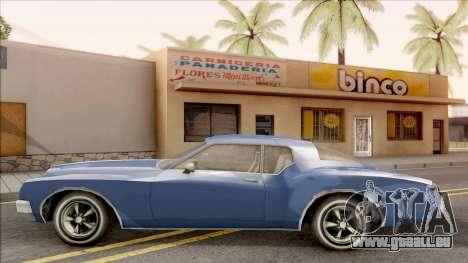 Driver PL Cerva pour GTA San Andreas laissé vue