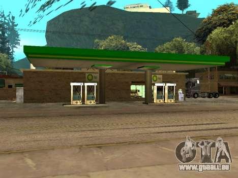 BP Gas Station für GTA San Andreas zweiten Screenshot