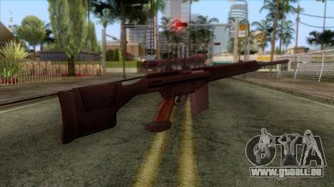 PSG1 Sniper Rifle pour GTA San Andreas deuxième écran