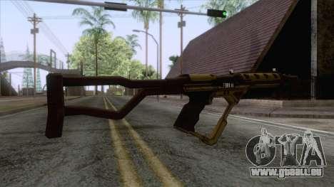 Evolve - Submachine Gun für GTA San Andreas zweiten Screenshot