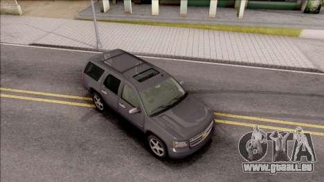 Chevrolet Tahoe LTZ 2008 IVF für GTA San Andreas rechten Ansicht