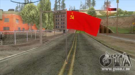 Flag of the Soviet Union für GTA San Andreas zweiten Screenshot