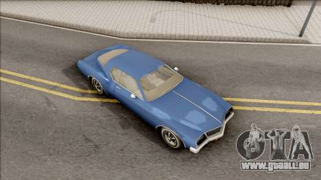 Driver PL Cerva pour GTA San Andreas vue de droite