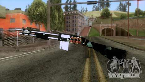 De Armas Cebras - Shotgun pour GTA San Andreas deuxième écran