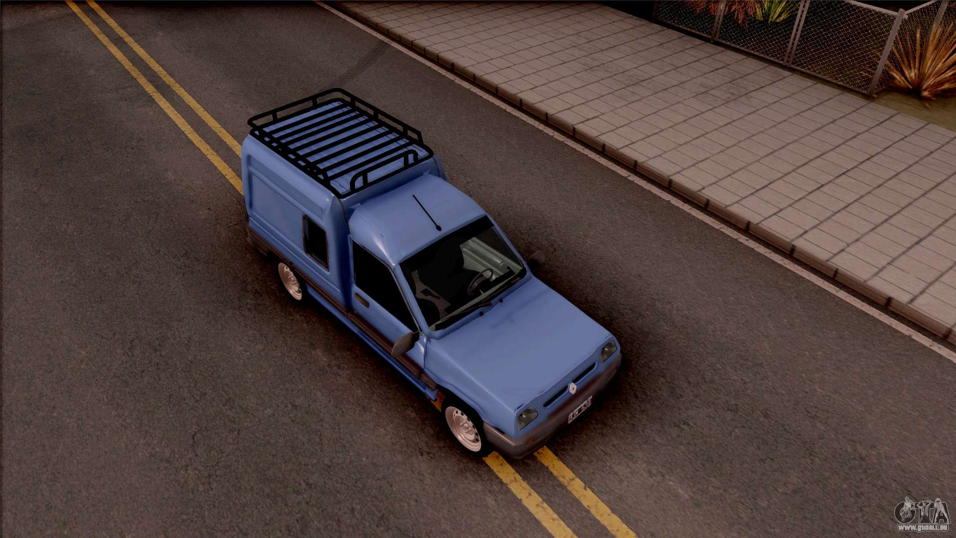 Renault express pour gta san andreas for Interieur renault express