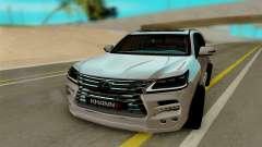 Lexus Lx570 KHAN III für GTA San Andreas