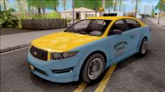 GTA V Vapid Unnamed Taxi IVF pour GTA San Andreas
