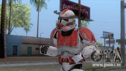 Star Wars JKA - Clone Shock Trooper Skin pour GTA San Andreas