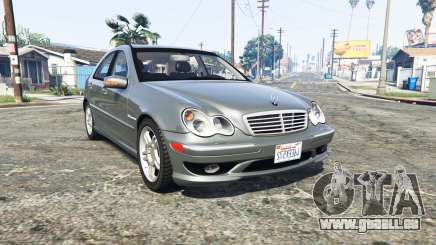 Mercedes-Benz C32 AMG (W203) 2004 [replace] pour GTA 5