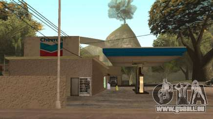 Chevron Gas Station für GTA San Andreas