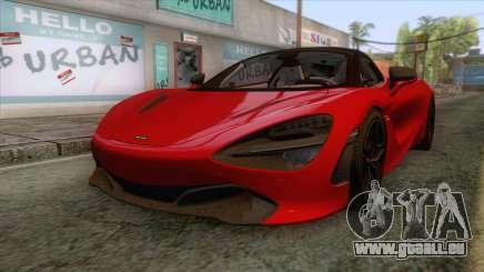 McLaren 720S 2017 v1 für GTA San Andreas