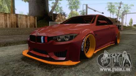 BMW M4 F82 GTS LB Performance 2015 pour GTA San Andreas