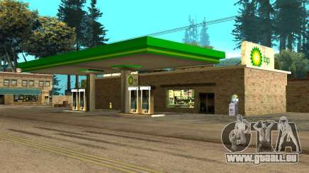 BP Gas Station für GTA San Andreas