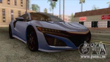 Acura NSX 2016 IVF pour GTA San Andreas