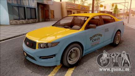 GTA V Vapid Unnamed Taxi pour GTA San Andreas