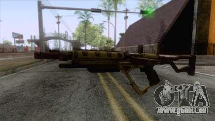 Evolve - Submachine Gun für GTA San Andreas