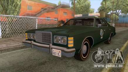 Ford LTD Custom 500 DNREC 1975 für GTA San Andreas