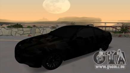 BMW M3 E92 GTR Black Camo für GTA San Andreas