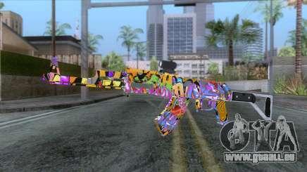 CoD: Black Ops II - AK-47 Graffiti Skin v1 pour GTA San Andreas