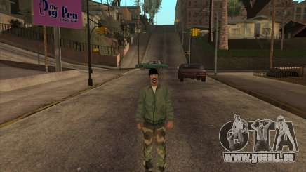 Psycho Beta Skin für GTA San Andreas
