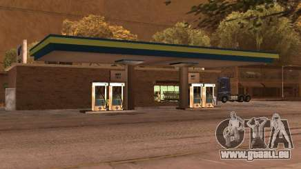 OMV Gas Station In Dillimore für GTA San Andreas