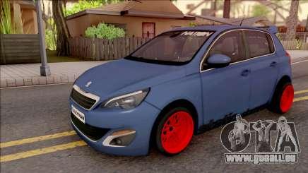 Peugeot 308 STANCE NATION pour GTA San Andreas