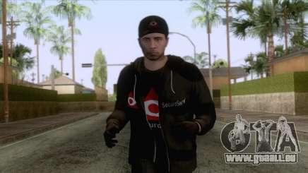 SecuroServ Skin 1 pour GTA San Andreas