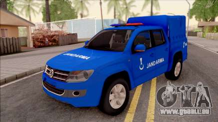 Volkswagen Amarok Turkish Gendarmerie Vehicle für GTA San Andreas