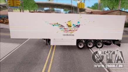 Remolque Adidas pour GTA San Andreas
