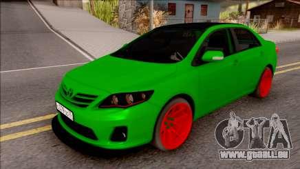 Toyota Corolla Green Edition für GTA San Andreas