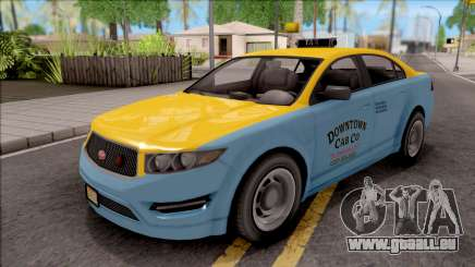 GTA V Vapid Unnamed Taxi IVF für GTA San Andreas