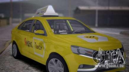 Lada Vesta Yandex Taxi (LVYT) Beta 0.1 für GTA San Andreas