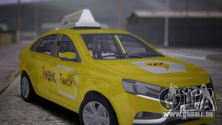 Lada Vesta Yandex Taxi (LVYT) Beta 0.1 pour GTA San Andreas
