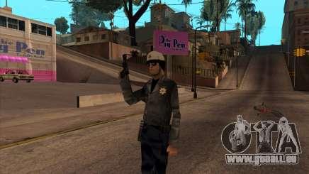 Beta Skin SFPDM pour GTA San Andreas