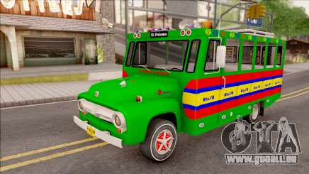 Ford F-350 Chiva Rumbera pour GTA San Andreas
