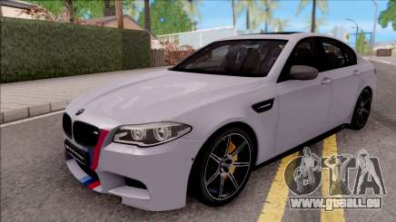 BMW M5 F10 M Performance pour GTA San Andreas