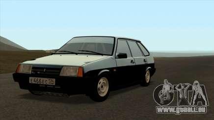 VAZ 2109 für das original für GTA San Andreas