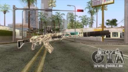 CoD: Black Ops II - AK-47 Benjamin Skin v2 für GTA San Andreas