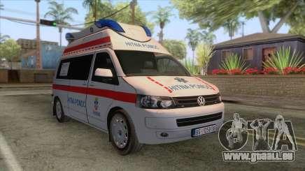 Volkswagen T5 Serbian Ambulance pour GTA San Andreas