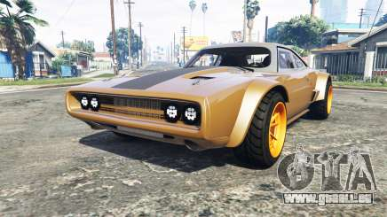 Dodge Charger Fast & Furious 8 [add-on] für GTA 5
