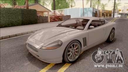 GTA IV Dewbauchee Super GT für GTA San Andreas