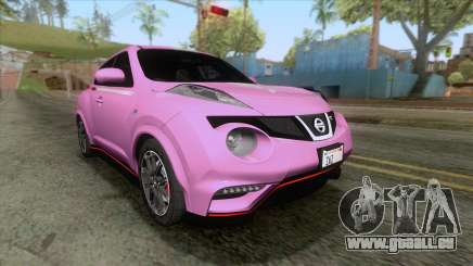 Nissan Juke Nismo RS 2014 pour GTA San Andreas