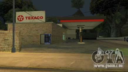 Texaco Gas Station pour GTA San Andreas