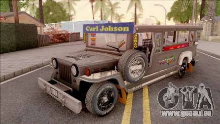 Galvanized Jeepney für GTA San Andreas