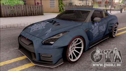 Nissan GT-R Nismo 2017 DDK pour GTA San Andreas