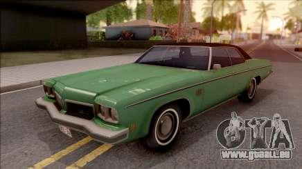 Oldsmobile Delta 88 1973 HQLM pour GTA San Andreas