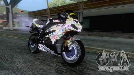 Kawasaki Ninja ZX-6R BoomCustom pour GTA San Andreas