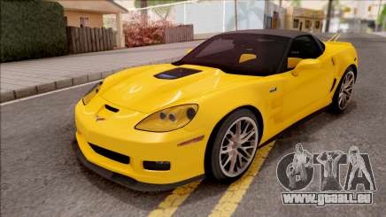 Chevrolet Corvette ZR1 C6 2009 pour GTA San Andreas