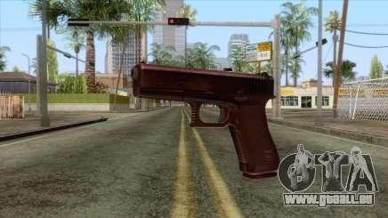 Glock 17 Original für GTA San Andreas