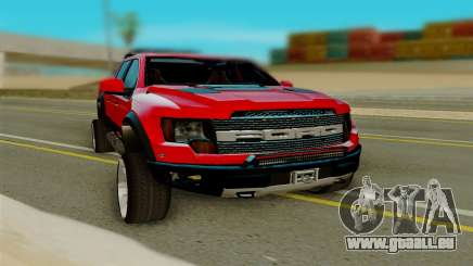 Ford F150 Raptor pour GTA San Andreas